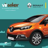 Wen 'n Renault Captur met Virseker
